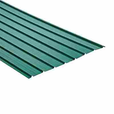 Trapezblech H12 Plus grün 200 x 93 cm x 0,4 mm