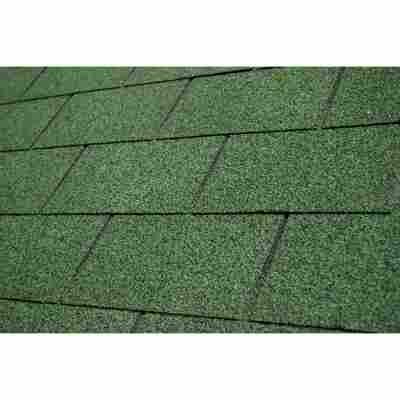 Bitumen-Rechteckschindeln grün 2 m²