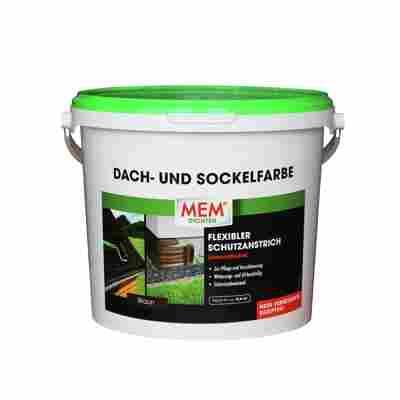 Dach- und Sockelfarbe braun 5 kg