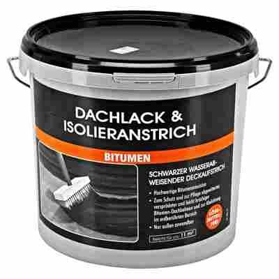 Dachlack & Isolieranstrich 'Bitumen' schwarz 5 l