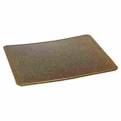 Bodenblech Messing gehämmert 50 x 60 cm