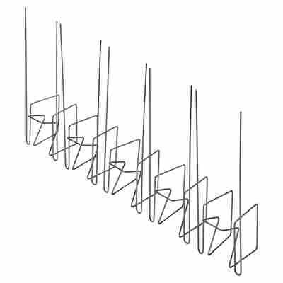 Dachrinnen-Taubenschutz 45 x 135 mm 5 Stück