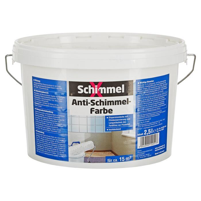 Antischimmelfarbe Weiss 2 5 L ǀ Toom Baumarkt