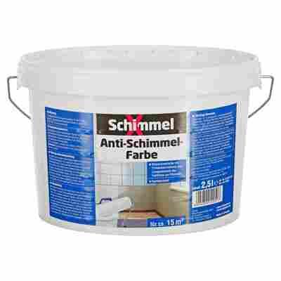 Antischimmelfarbe weiß 2,5 l