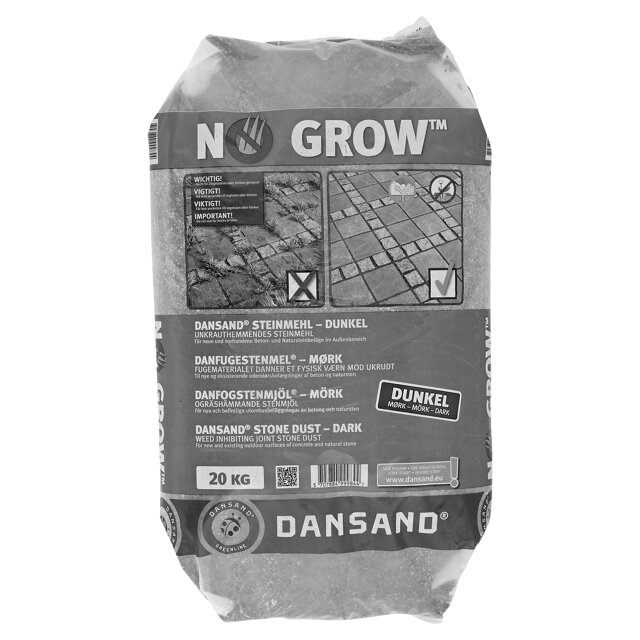 dansand steinmehl no grow dunkel 20 kg toom baumarkt. Black Bedroom Furniture Sets. Home Design Ideas