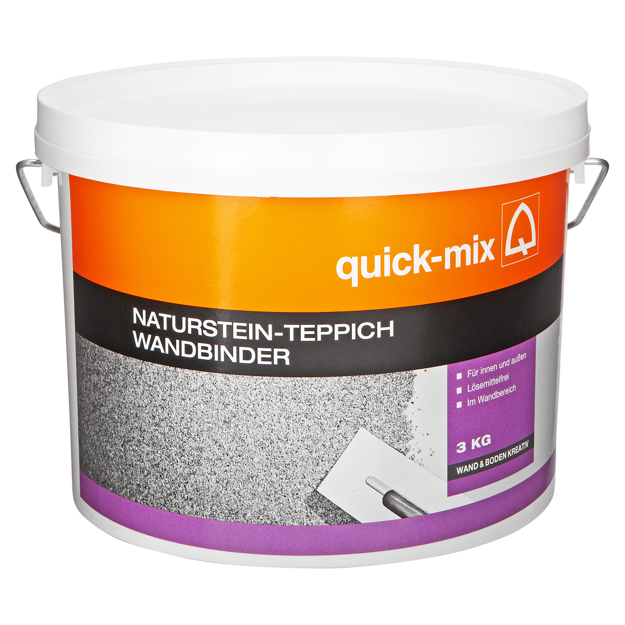 Gut gemocht Quick-mix Wandbinder für Naturstein-Teppich 3 kg ǀ toom Baumarkt SD74