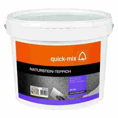 QuickMix Naturstein-Teppich donauflusskiesel 20 kg
