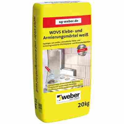 Klebe- und Armierungsmörtel für Dämmplatten, weiß, 20 kg