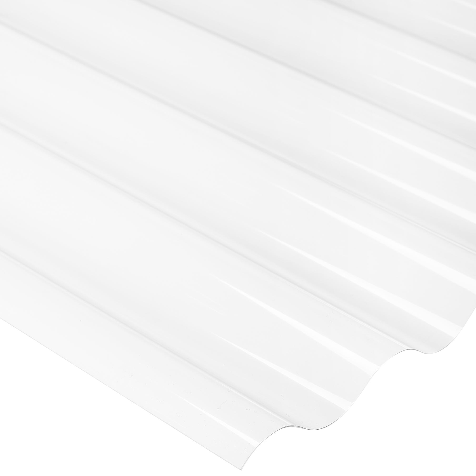 Befestigungsmaterial SALUX Wellplatte Rolle HRM sinus klar 10m² inkl 9,90€//m²