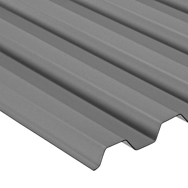 Pvc Wellplatte Trapez 70 18 Grau ǀ Toom Baumarkt