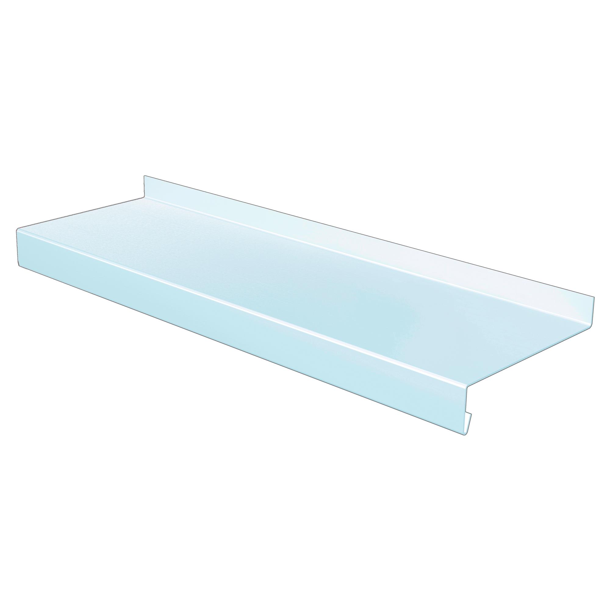 Fensterbank Aluminium weiß 300 x 0,15 x 9 cm ǀ toom Baumarkt