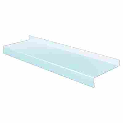 Fensterbank Aluminium weiß 300 x 0,15 x 16,5 cm