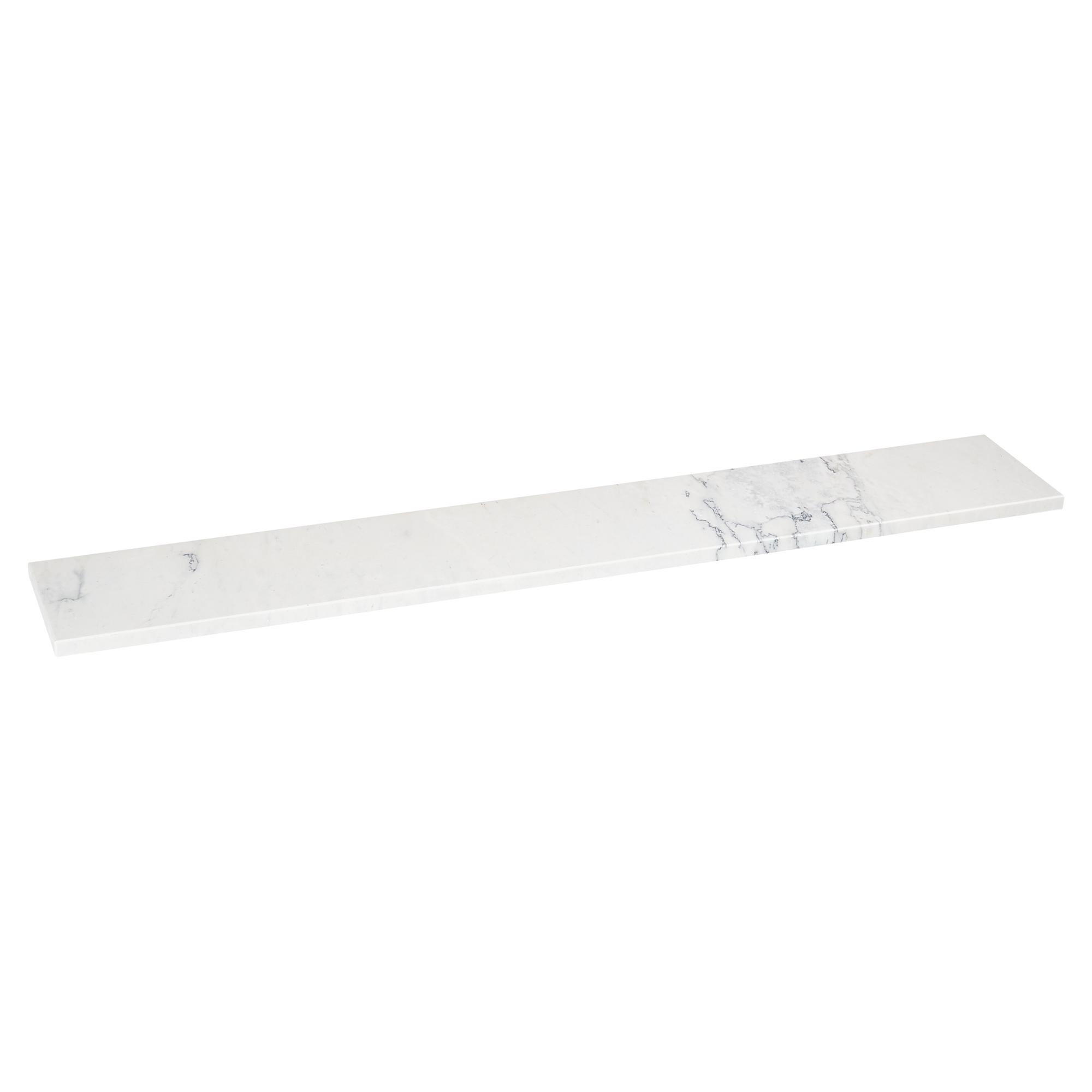fensterbank bianco carrara marmor wei 126 x 20 cm toom baumarkt. Black Bedroom Furniture Sets. Home Design Ideas