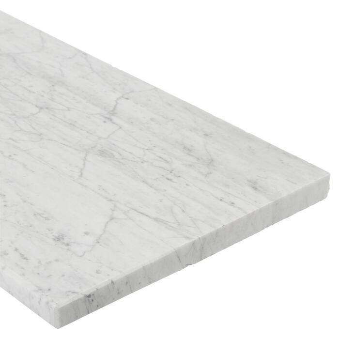 Fensterbank Bianco Carrara Marmor 126 X 25 Cm ǀ Toom Baumarkt