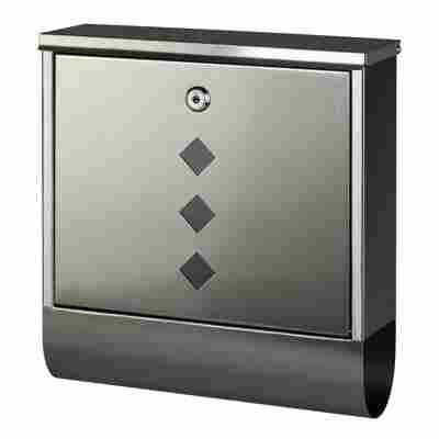 Briefkasten 'Square' Edelstahl 31,0 x 30,5 x 9,0 cm
