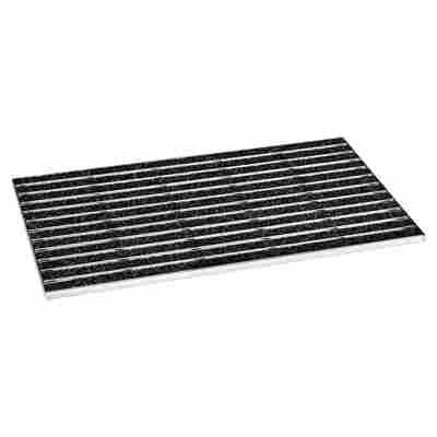 Schuhabstreifer schwarz 60 x 40 cm