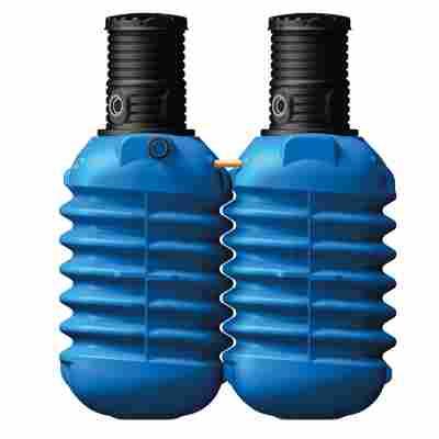 Erdtank Modularis blau, inkl. Schachtverlängerung, 5000 l