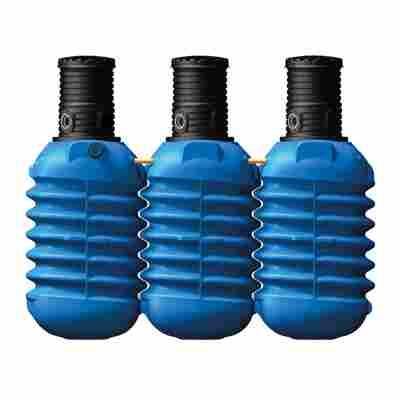 Erdtank Modularis blau, inkl. Schachtverlängerung, 7500 l