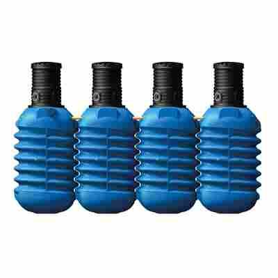 Erdtank Modularis blau, inkl. Schachtverlängerung, 10000 l