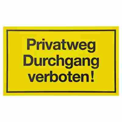 """Schild """"Privatweg"""""""