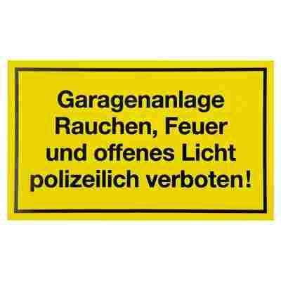 """Schild """"Garagenanlage"""" 15 x 25 cm"""