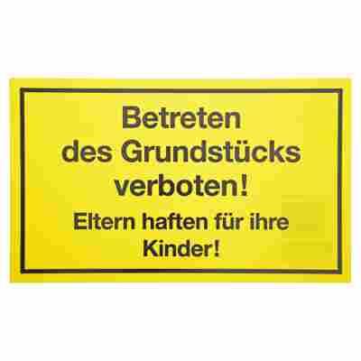 """Schild """"Betreten verboten"""" 25 x 15 cm"""