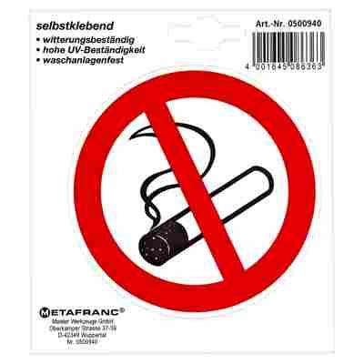 """Schild """"Rauchen verboten"""" Ø 97 mm"""