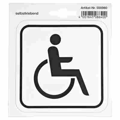 """Schild """"Rollstuhl"""""""