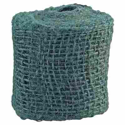 Juteband tannengrün 300 x 6 cm