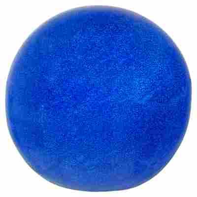 Gartenkugel Keramik glasiert blau Ø 20 cm