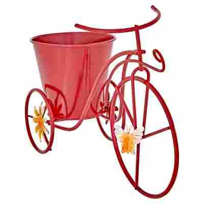 Deko-Blumentopf Fahrrad