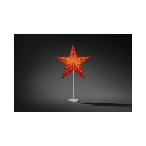 Papiersterne Weihnachtsbeleuchtung.Konstsmide Weihnachtsbeleuchtung Papierstern Rot ǀ Toom Baumarkt