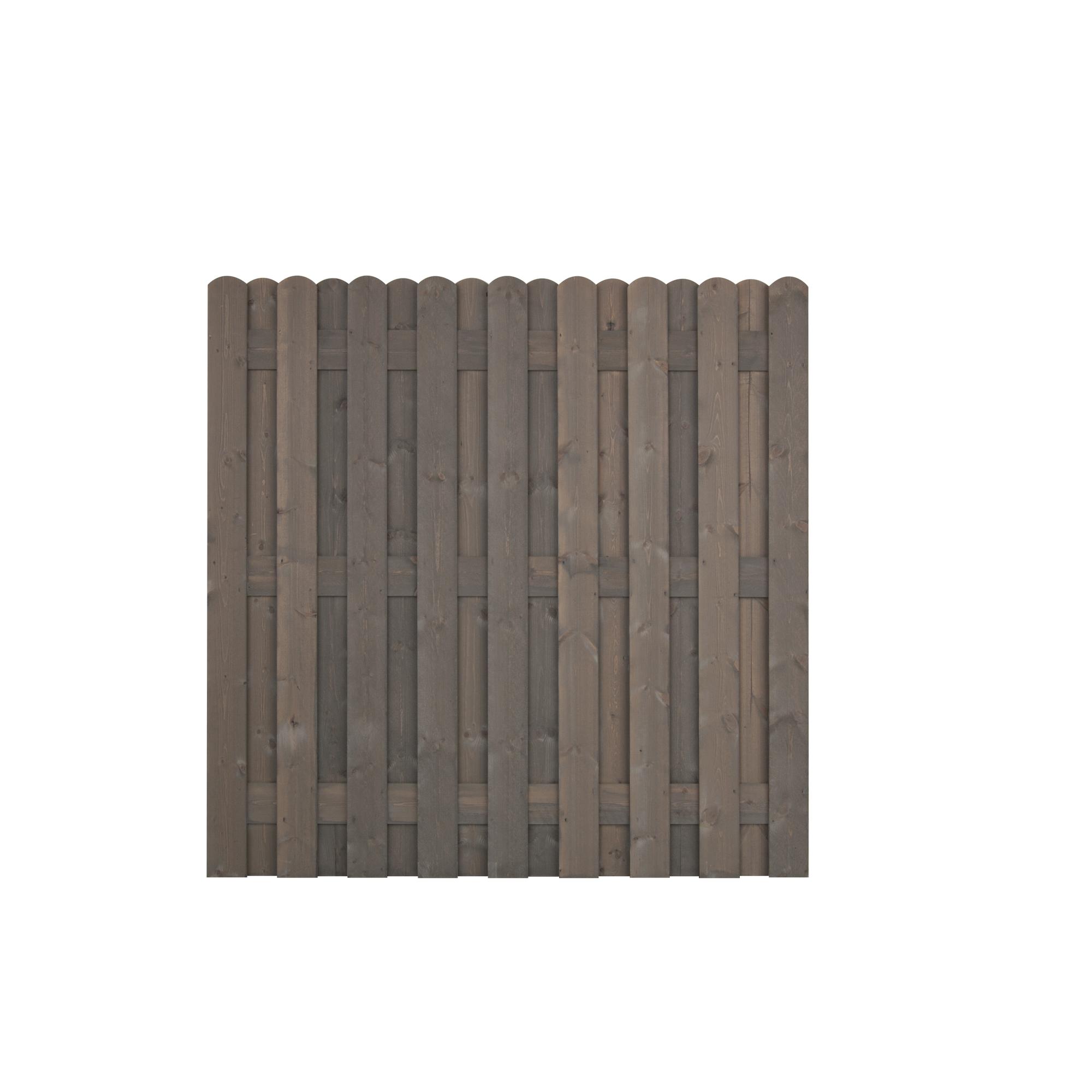 Zaunelement Bohlenzaun Grau 180 X 180 Cm ǀ Toom Baumarkt