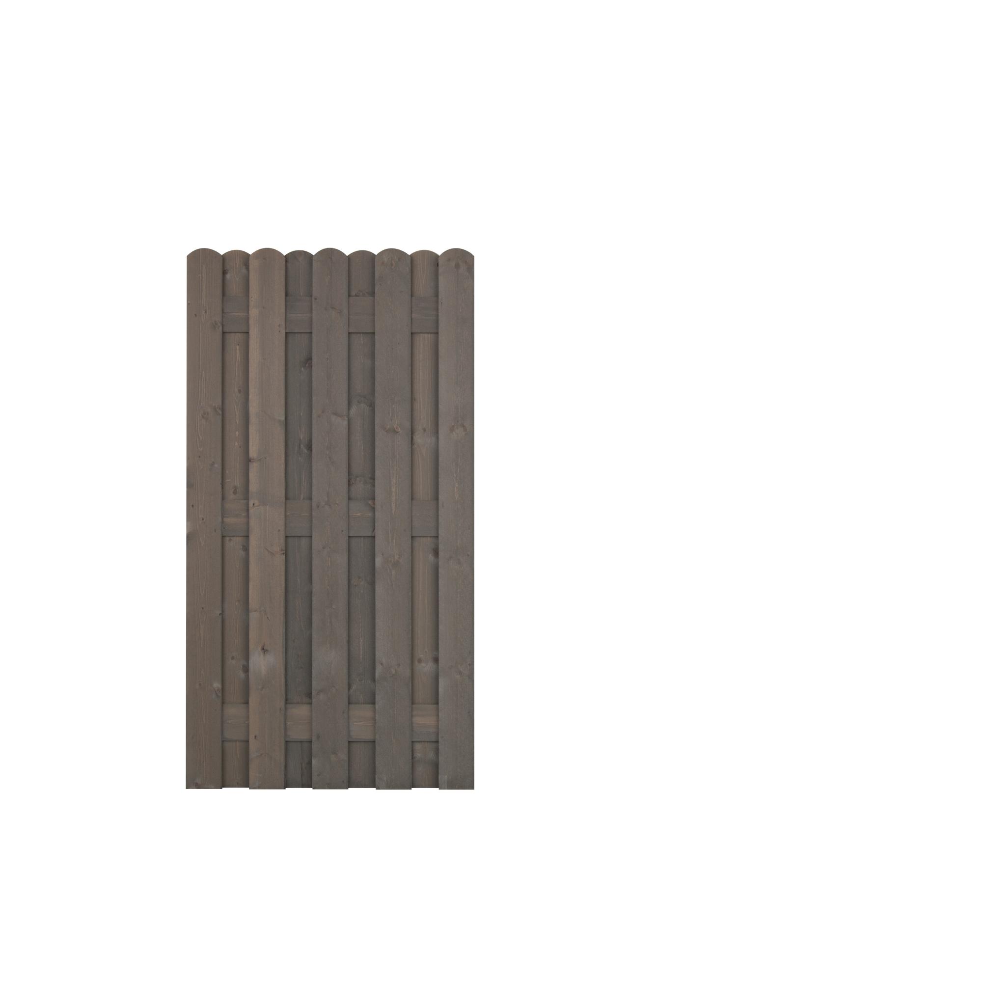 Andrewex Zaunelement Bohlenzaun Grau 180 X 90 Cm ǀ Toom Baumarkt