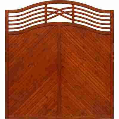 Zaunelement 'Marano' 180 x 180 cm teak