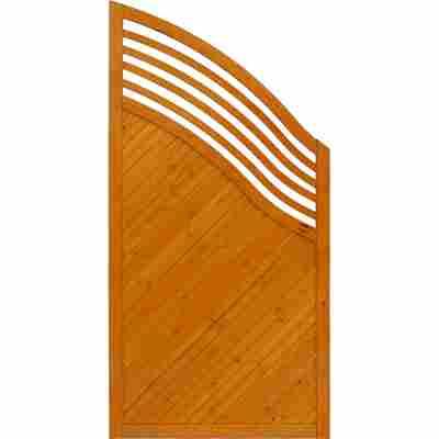 Zaun-Schrägelement 'Marano' 90 x 180 cm pinie