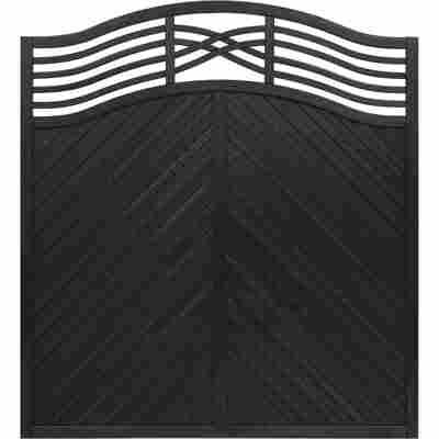 Zaunelement 'Marano' 180 x 180 cm anthrazit