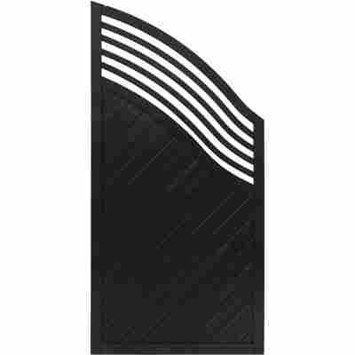 Zaun-Schrägelement 'Marano' 90 x 180 cm anthrazit
