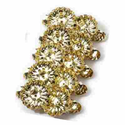 Kerzenhalter-Clips gold 4 cm, 10-teilig