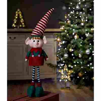 Weihnachtsfigur 'Elf' rot 46 cm
