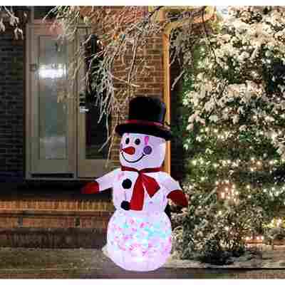 LED-Schneemann aufblasbar 120 cm