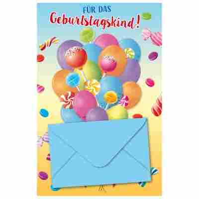 Grußkarte Geburtstag Kinder 'Just for You'