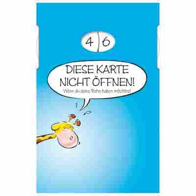 Grußkarte Geburtstag Humor 'Überraschung' Drehzahlen