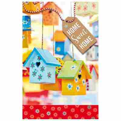 Grußkarte Umzug 'Sweet Home'