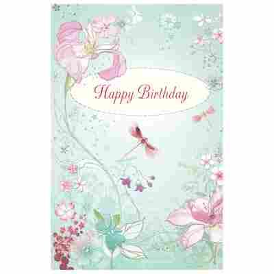 Grußkarte Geburtstag 'Dreaming'