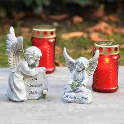 Grab-Gedenkstein 'Angel Nino' Engel, 2 Ausführungen sortiert