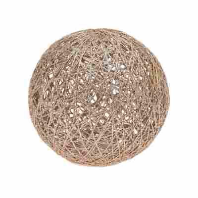 LED-Ball warmweiß 20 LEDs Ø 20 cm