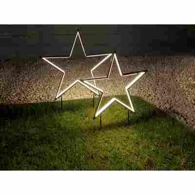 LED-Gartenstecker 'Stern' 180 LEDs
