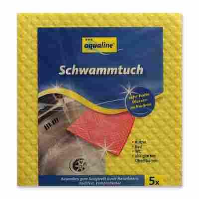 Schwammtuch 'Aqualine' 5 Stück