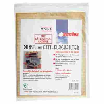 Dunst- und Fettflachfilter 57 x 47 cm 2 Stück